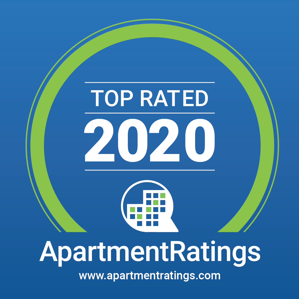 apartmentratings 2020 award image